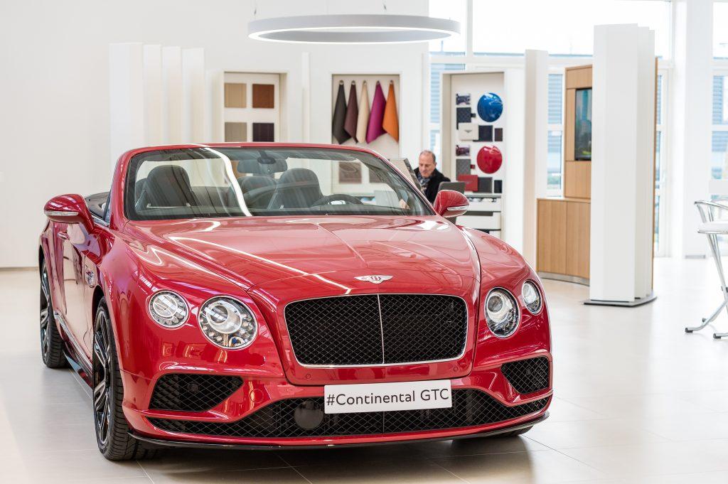 Bentley showroom Leusden