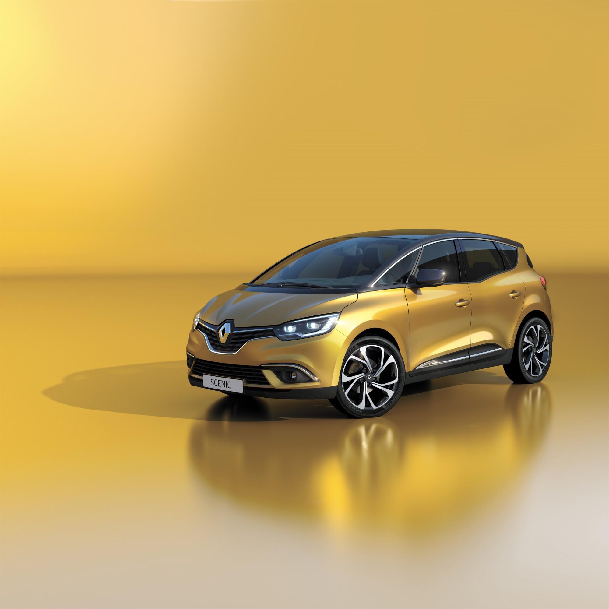De nieuwe Renault Scénic. Foto: Renault