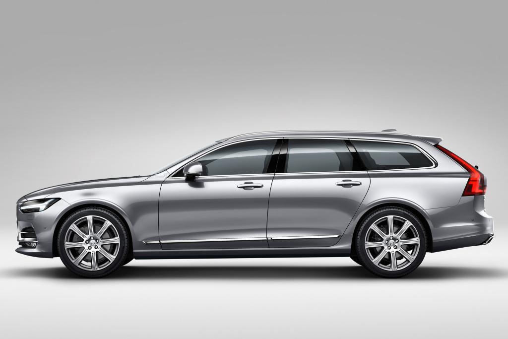 Volvo V90 side