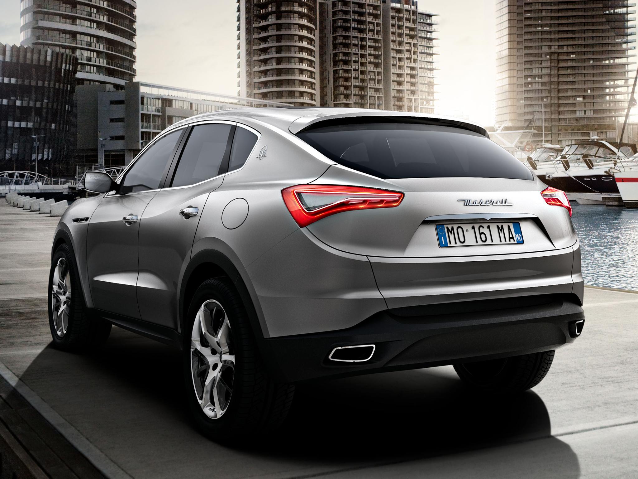 De Maserati Kubang Concept, zoals voorgesteld in 2011. Foto: Maserati
