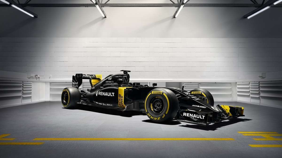 De Renault Sport RS16. Foto: Renault Sport