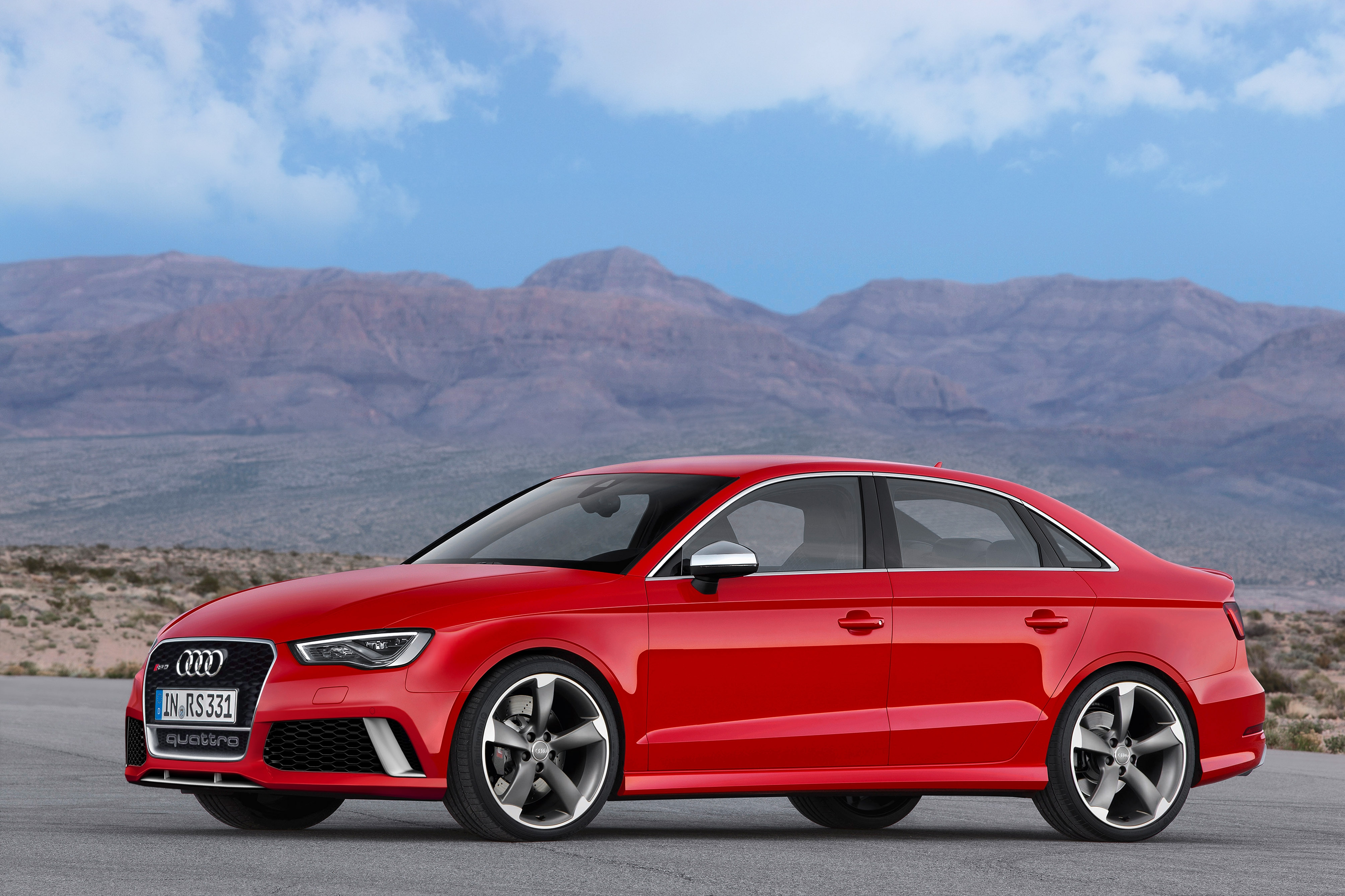 Eindelijk bevestigd: Audi RS3 Limousine