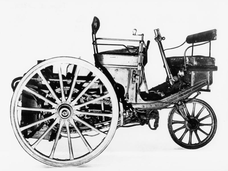 Peugeot driewieler op stoom