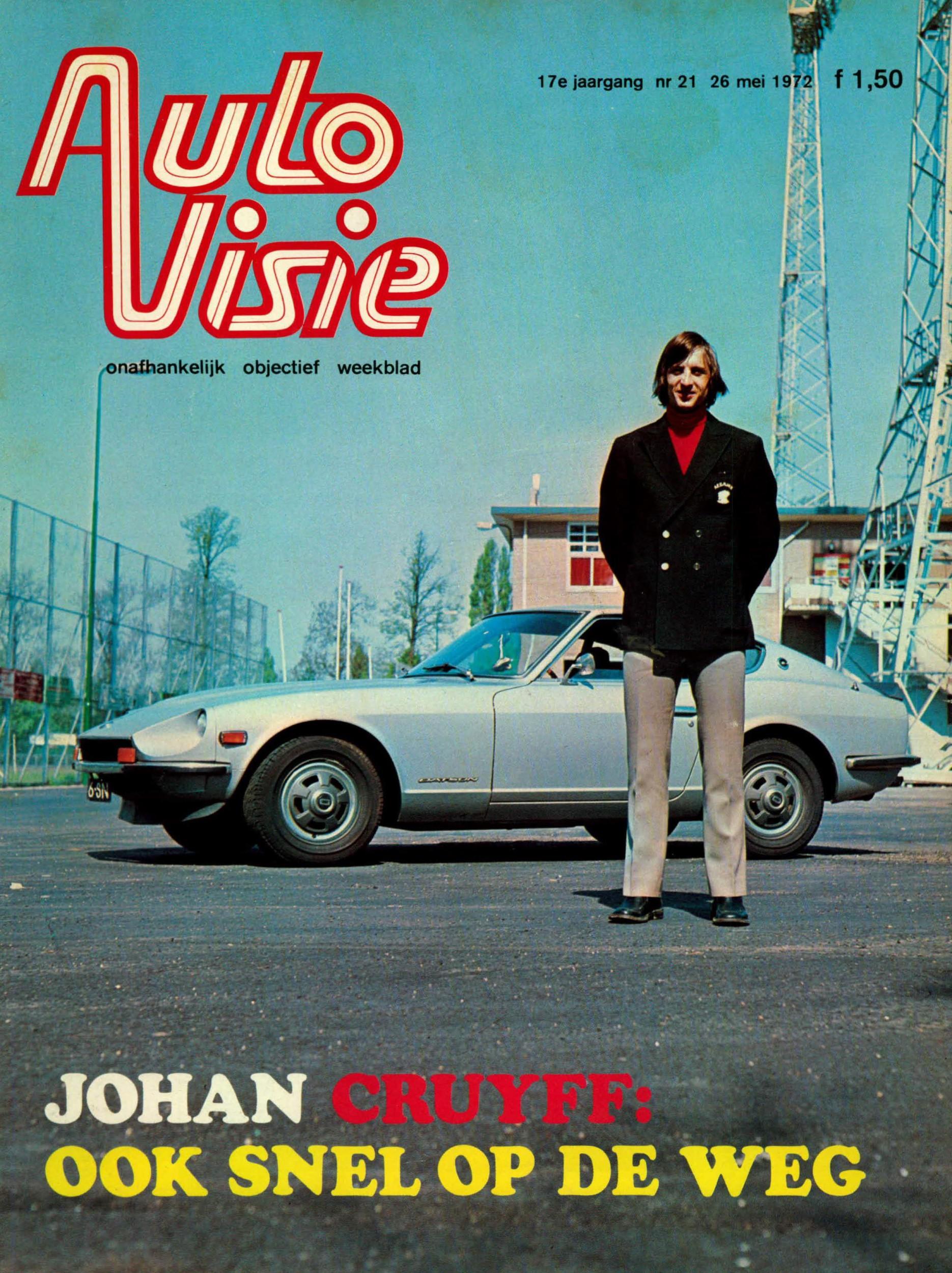 Autovisie cover Johan Cruijff