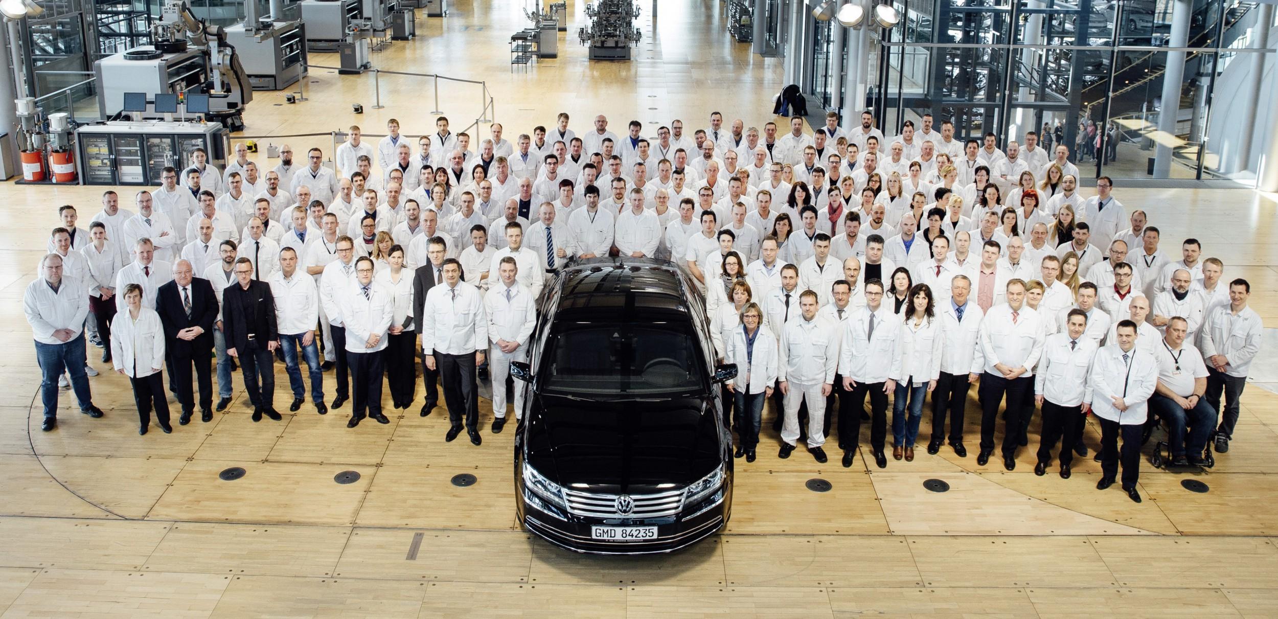 De laatste Volkswagen Phaeton.