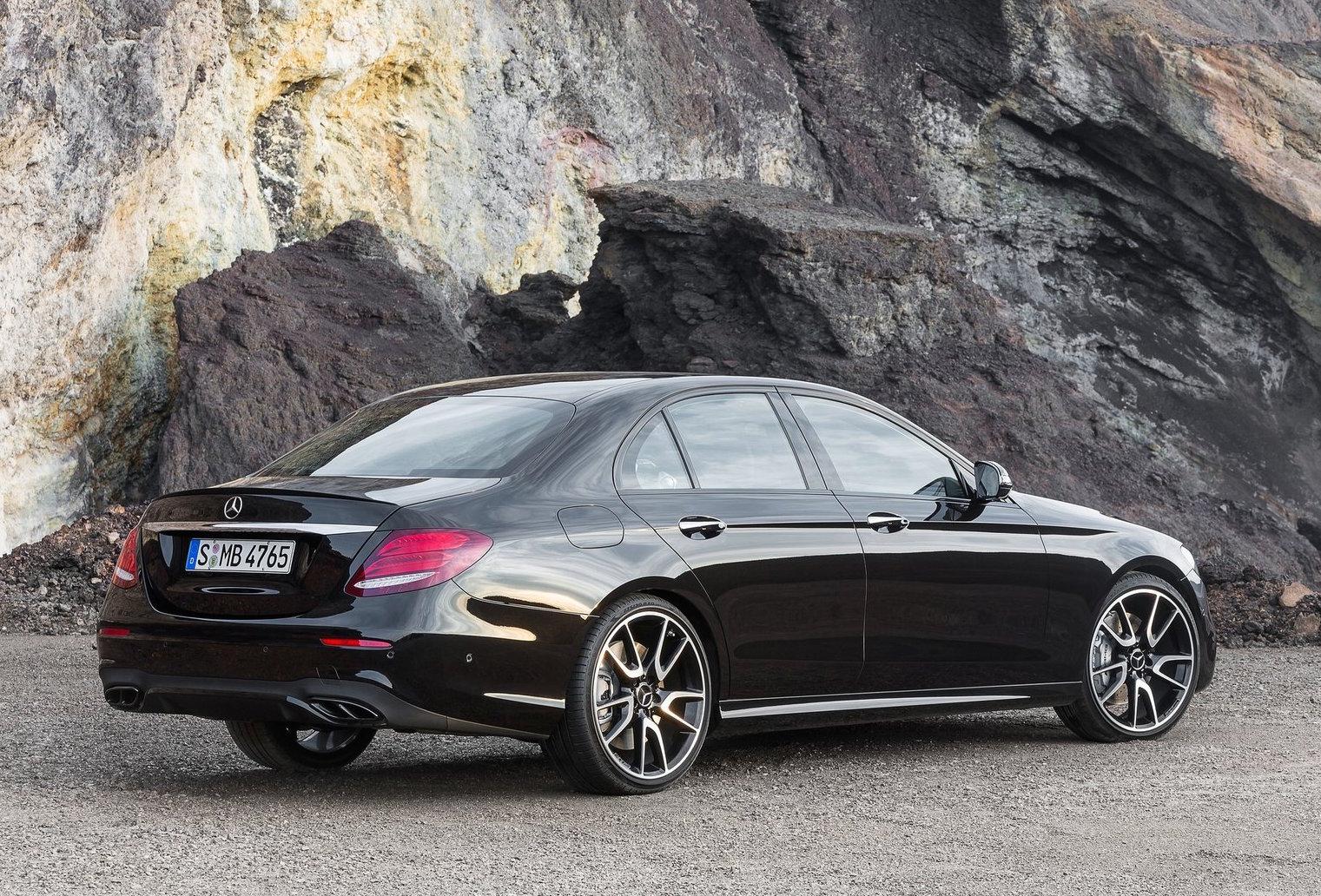 De Mercedes-AMG E 43, een van de nieuwste toevoegingen aan het gamma van AMG.