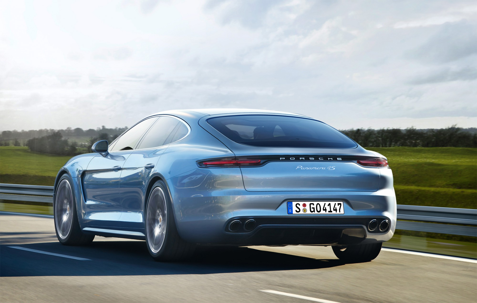 Porsche Panamera , Computerillustratie Schulte Design