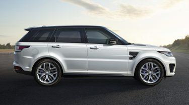 Range Rover Sport SVR a