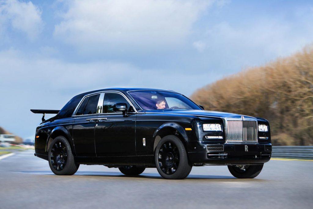 Rolls-Royce testmule