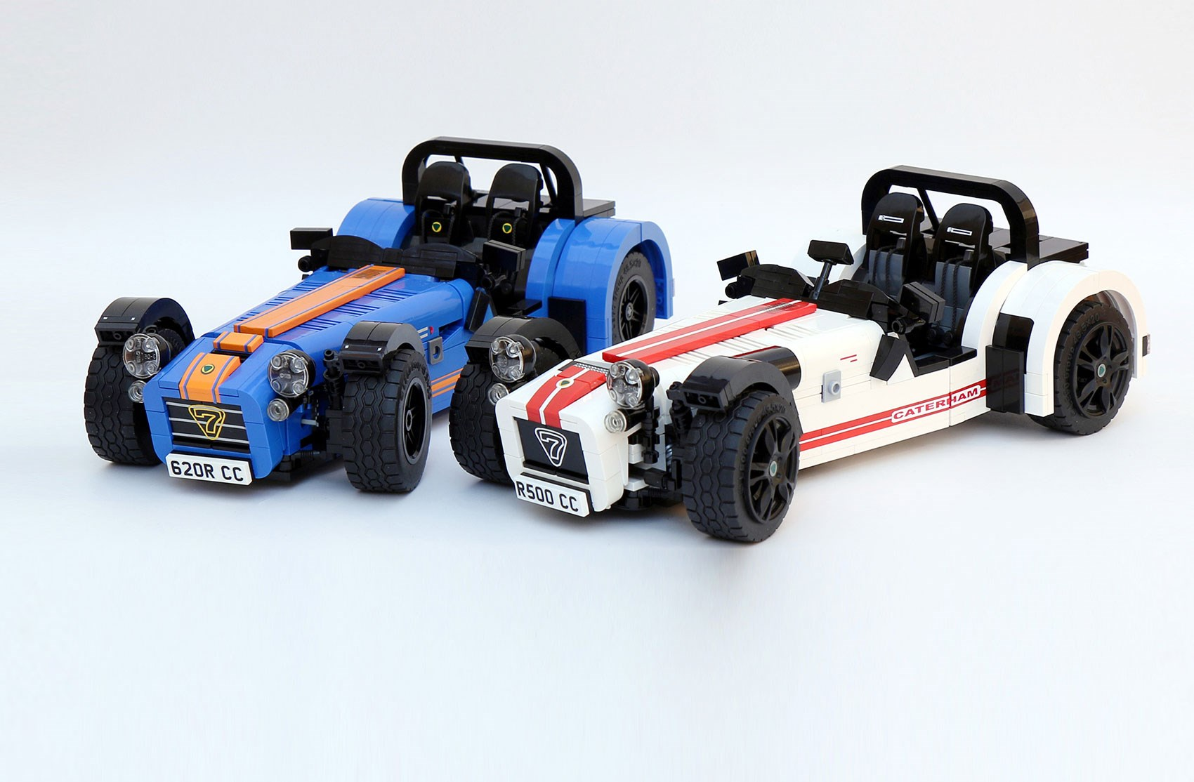 Caterham Seven Lego