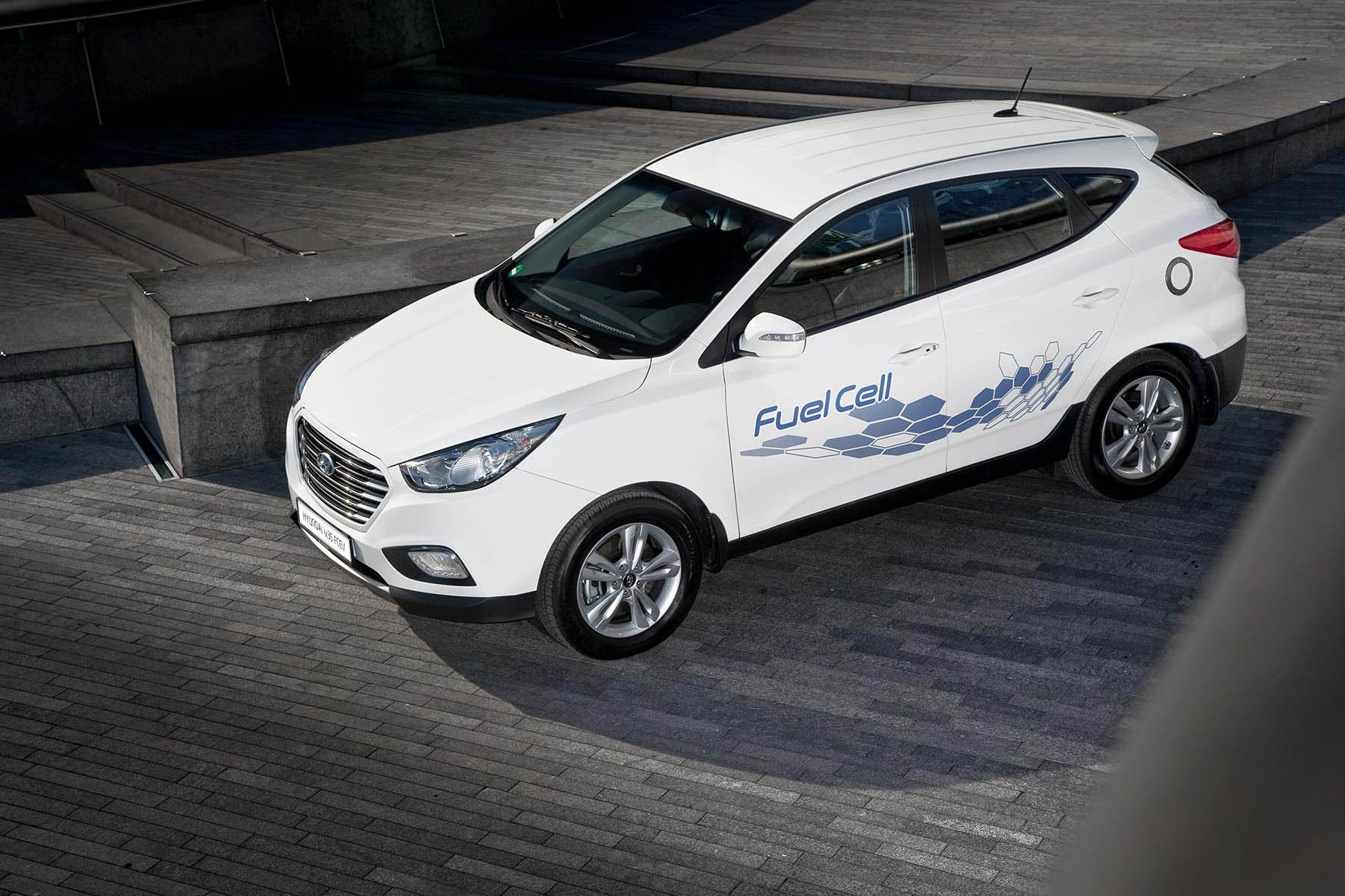 Hyundai ix35 waterstof waterstofauto brandstofcel FCEV