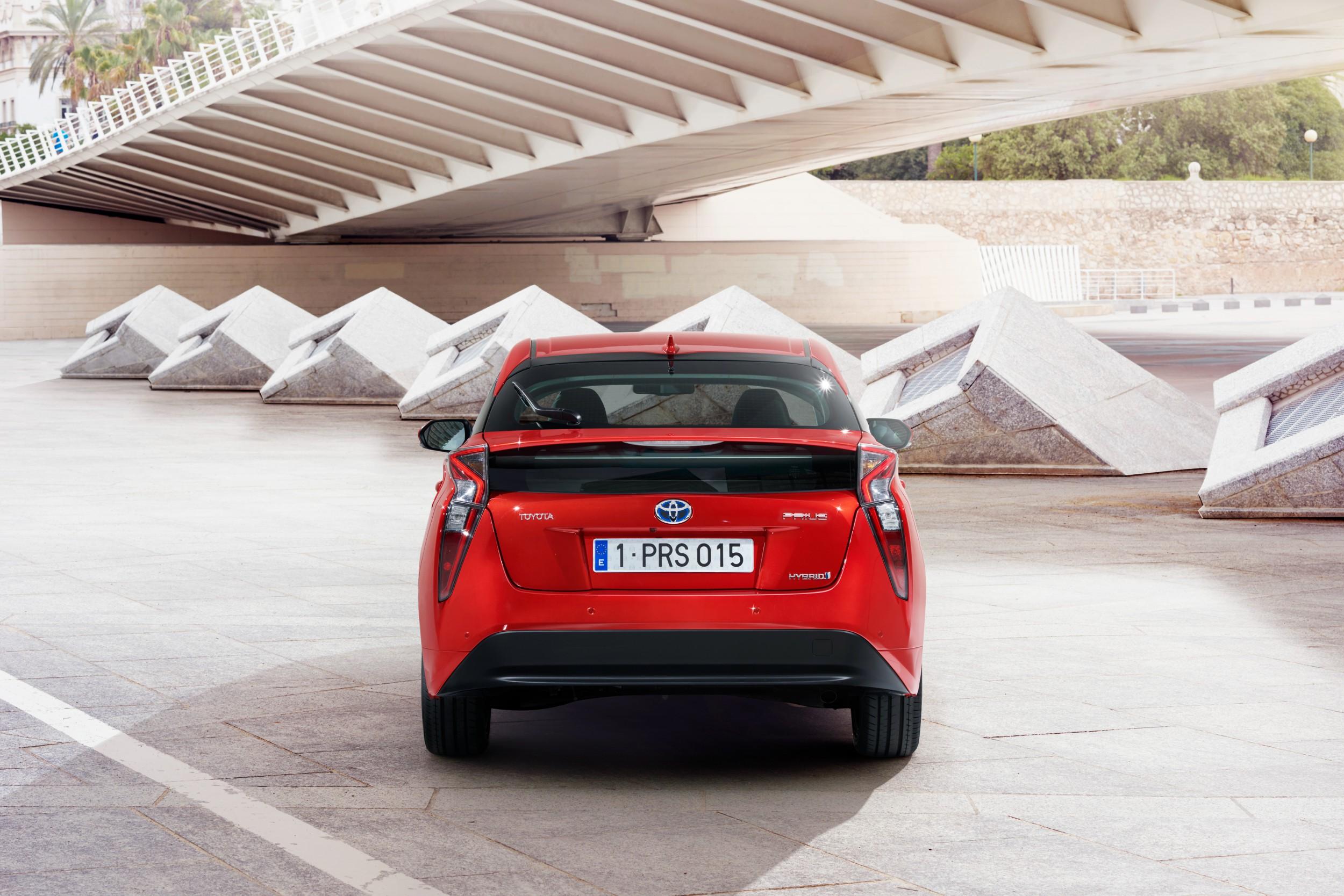 De Toyota Prius.
