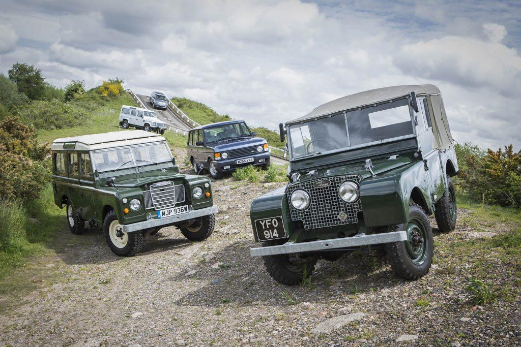 Land Rover Series I en zijn nazaten