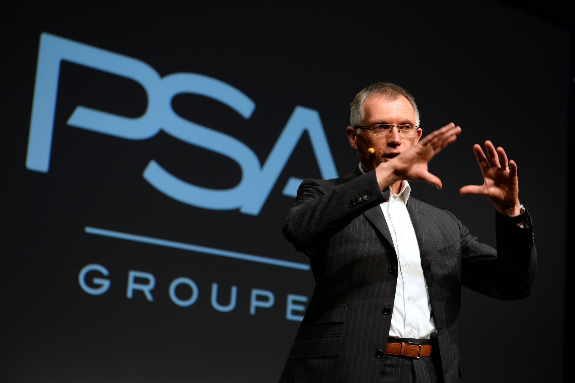 PSA Peugeot Citroën-topman Carlos Tavares