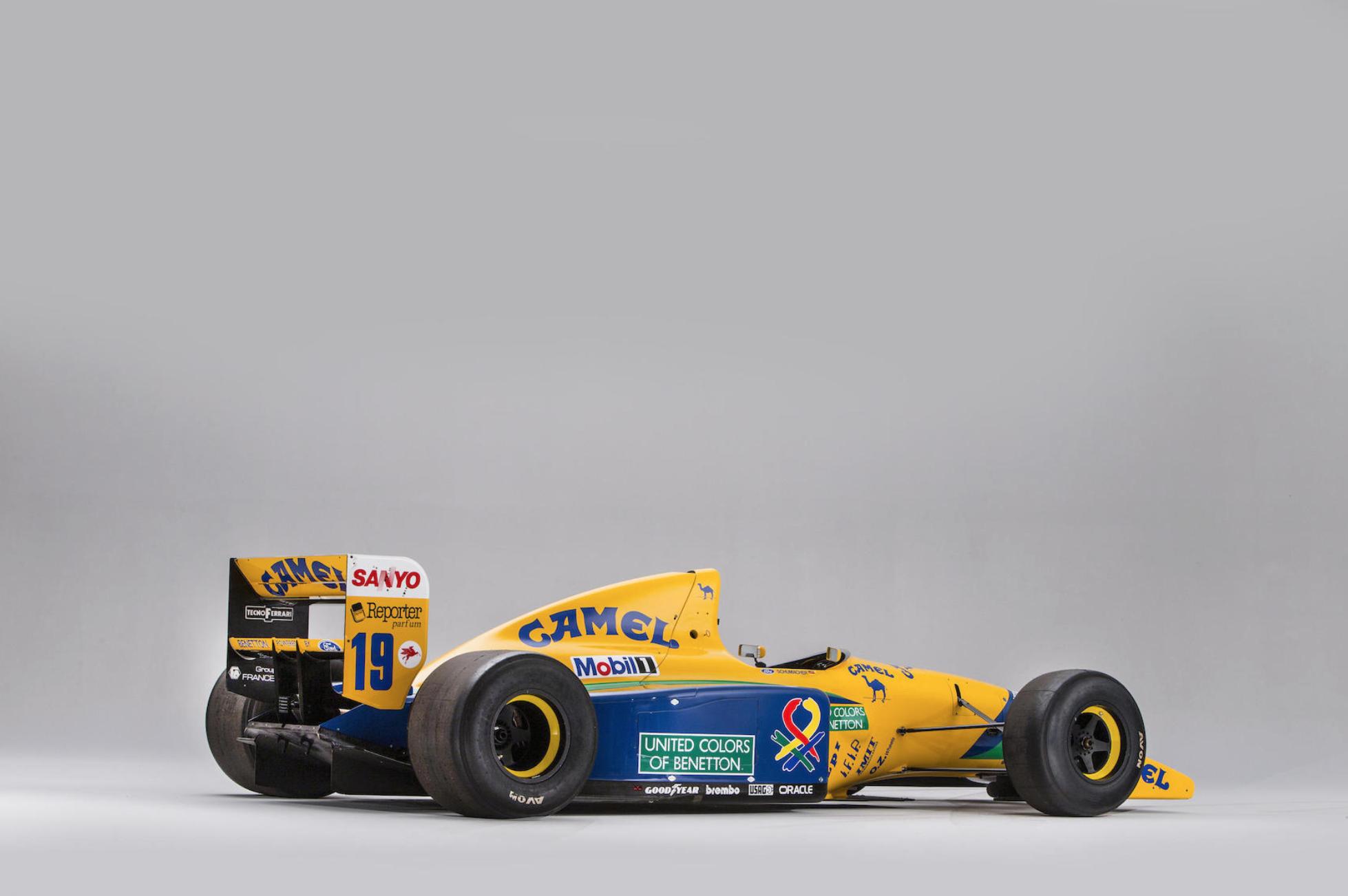 Benetton-Ford B191B-06 Michael Schumacher - Bonhams - Autovisie.nl - 2