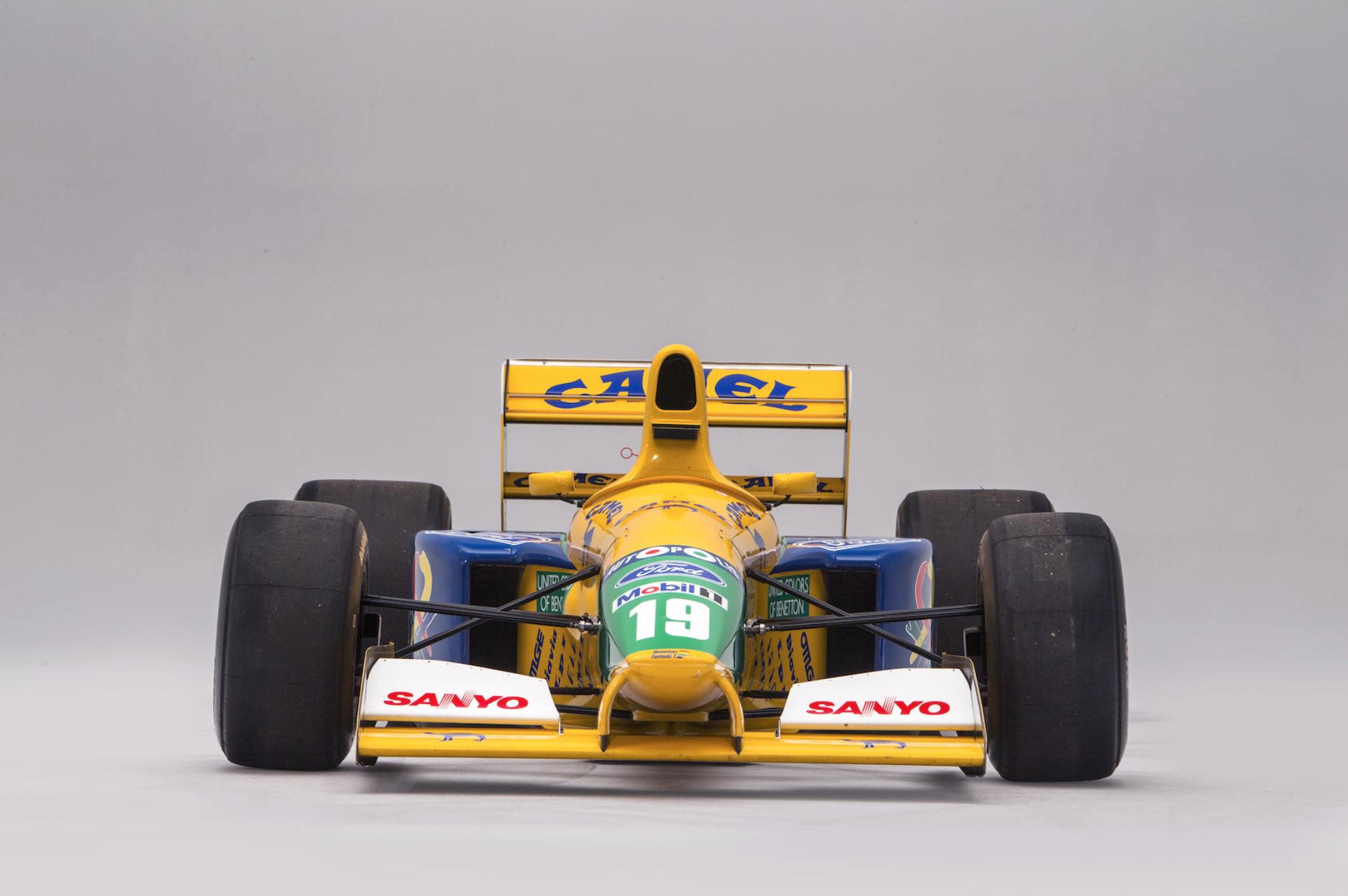 Benetton-Ford B191B-06 Michael Schumacher - Bonhams - Autovisie.nl - 1