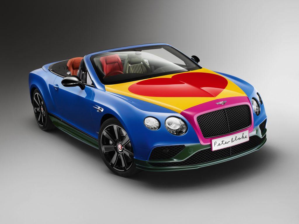 Bentley Continental by Peter Blake -2- Autovisie.nl