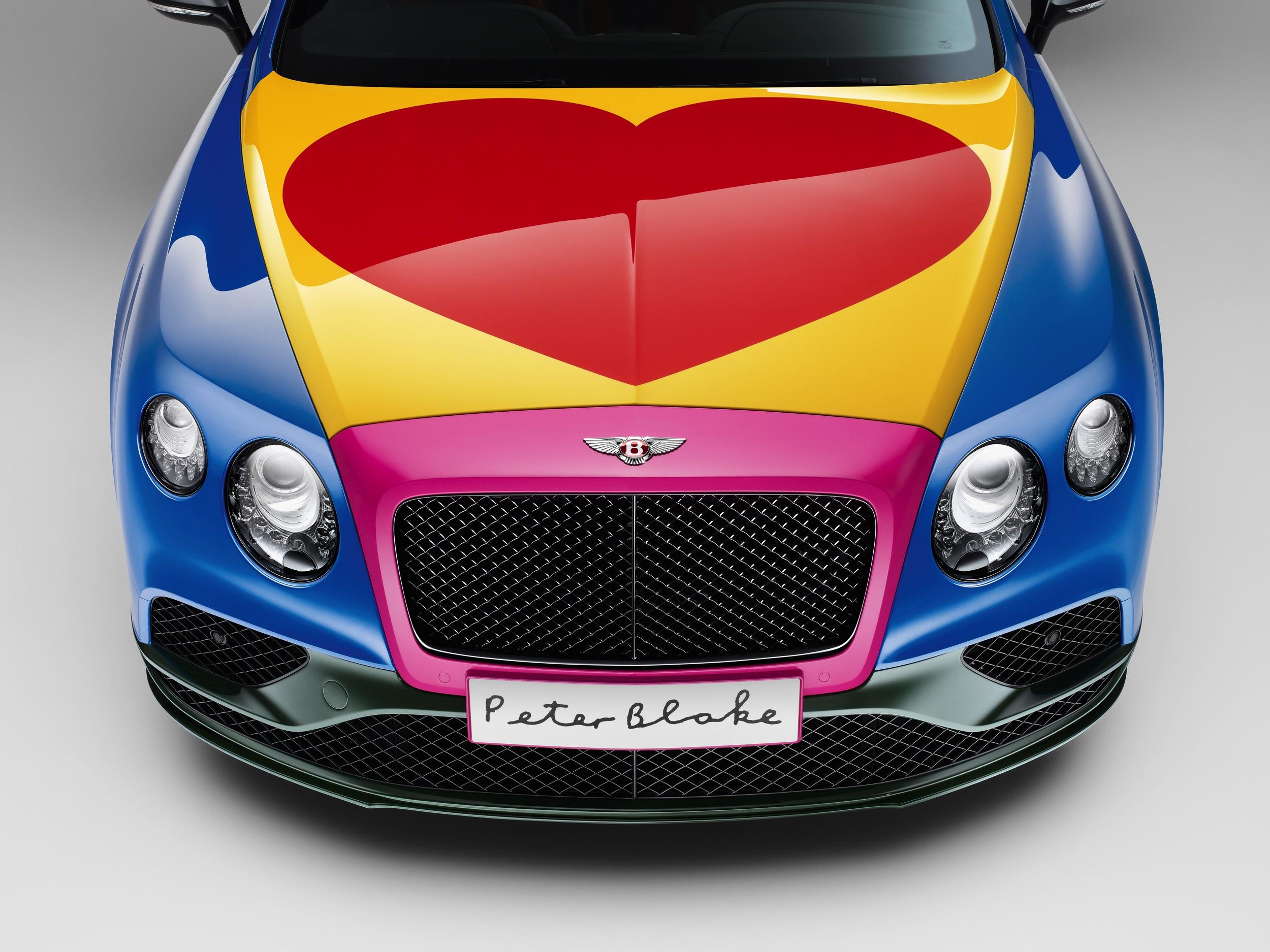 Bentley Continental by Peter Blake -3- Autovisie.nl