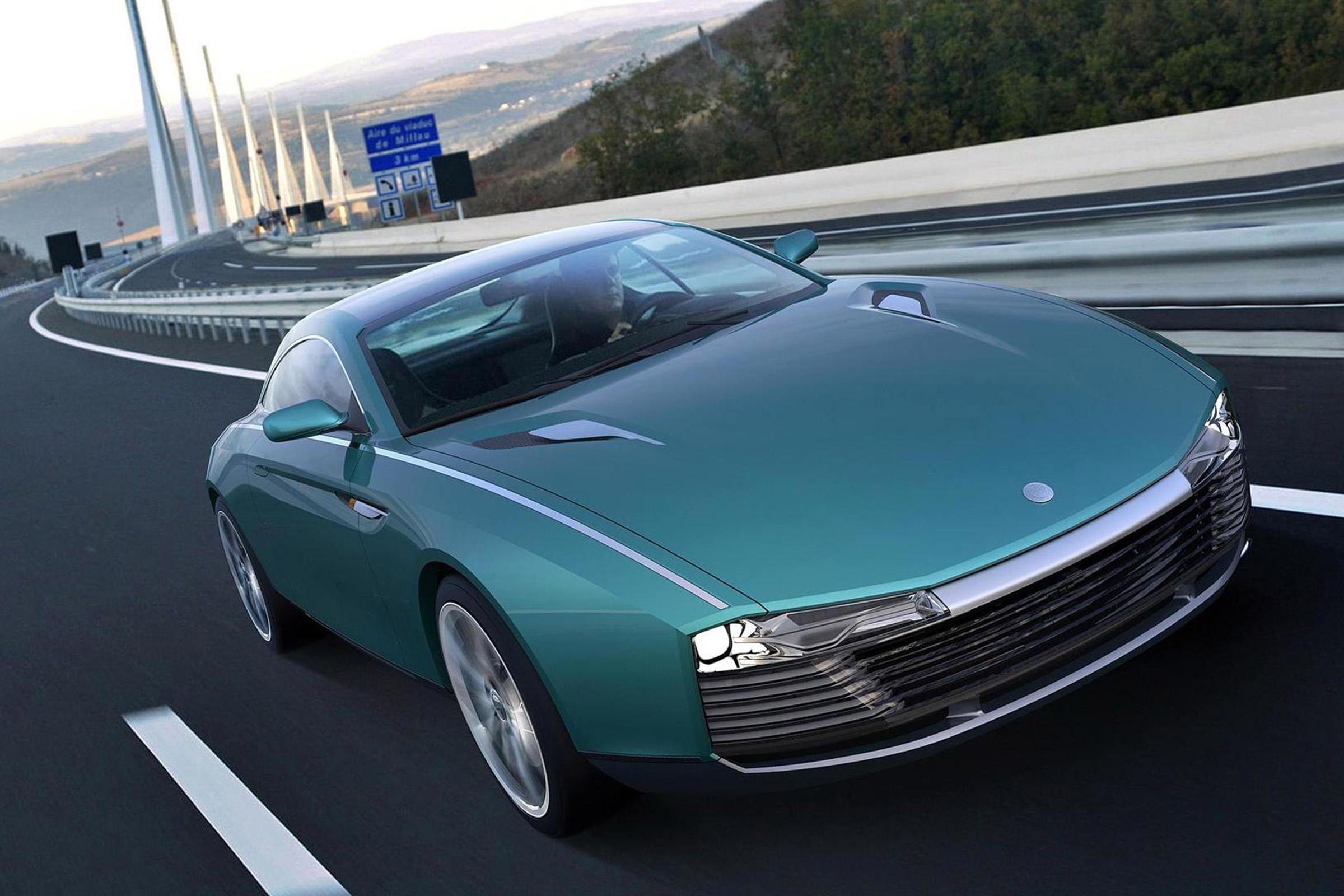 Cardi 442 Concept - Autovisie.nl - Aston Martin DB9