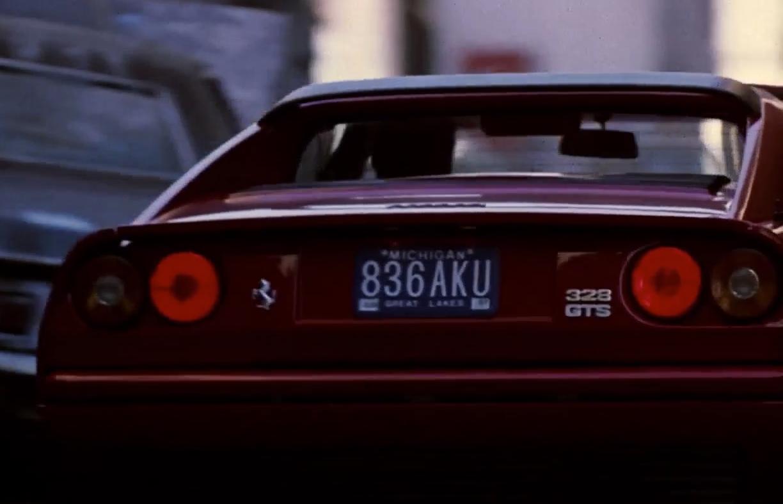 Ferrari 328 GTS - Beverly Hills Cop II - Autovisie.nl
