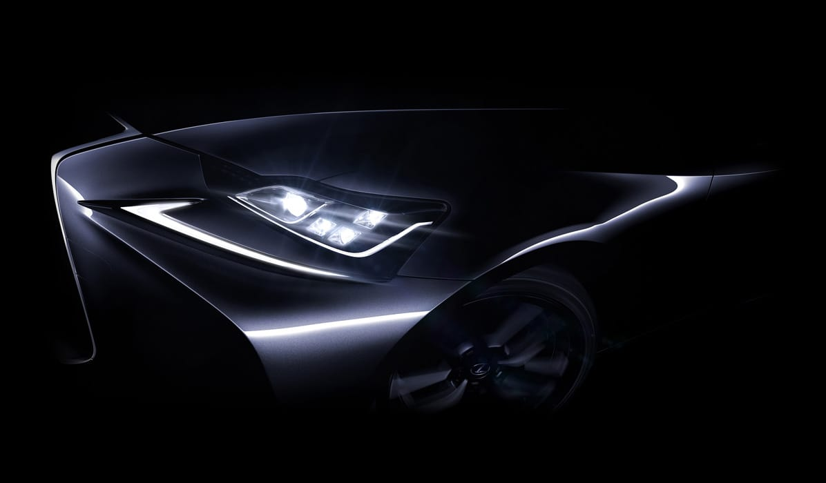Lexus IS facelift teaser - Autovisie.nl