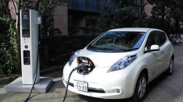 Nissan Leaf open