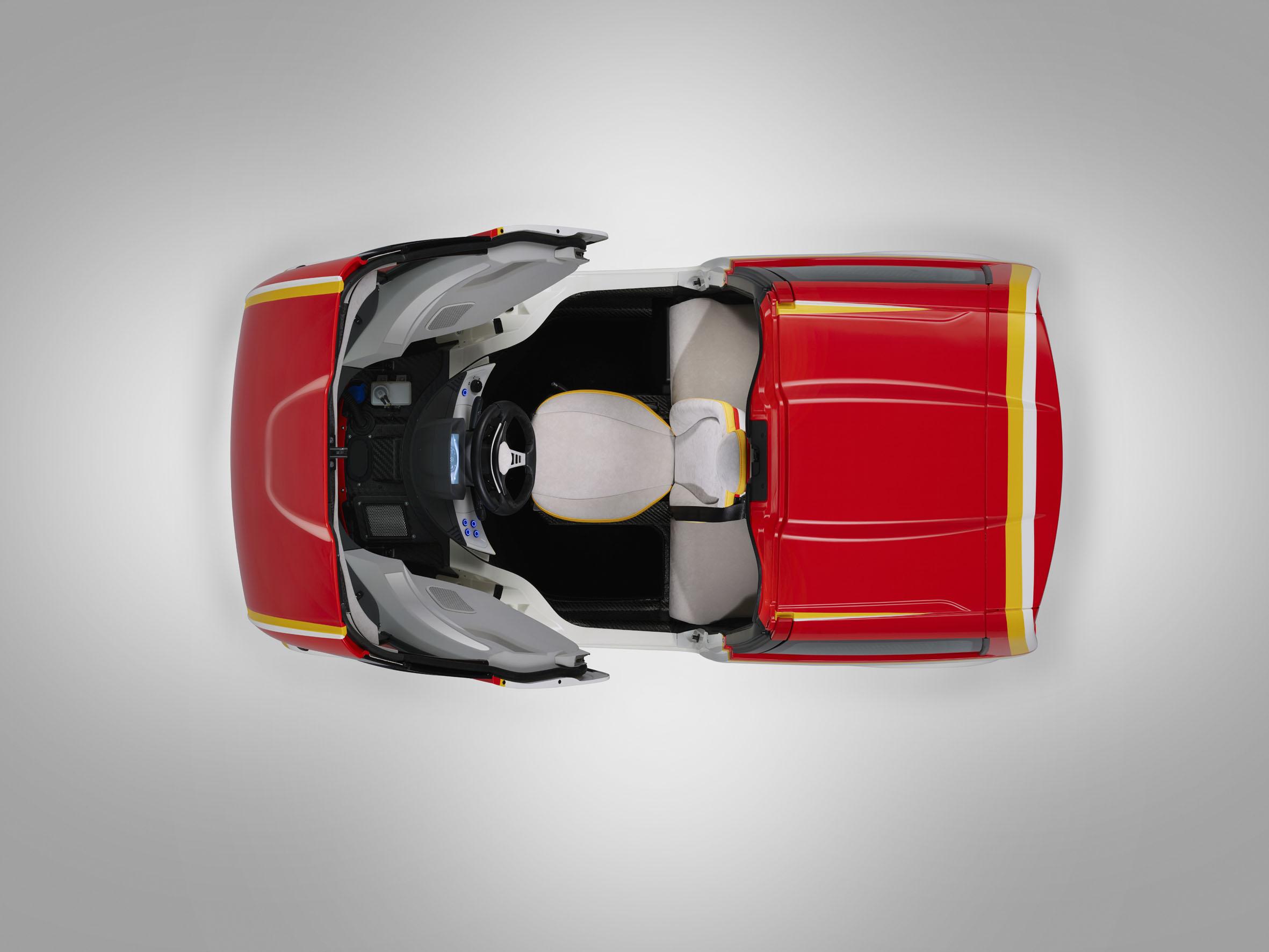 Gordon Murray Concept Car Shell/Justin Leighton