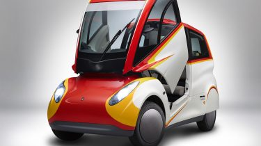Shell Concept Car_Side Angled, Door Up