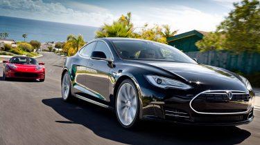 Tesla Roadster en Model S