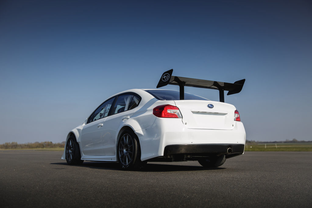 Subaru WRX STI voor Isle of Man TT. Foto: James Gibson