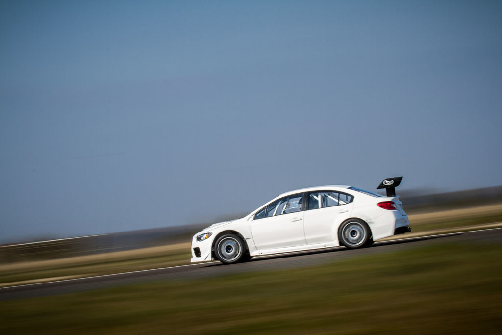 Subaru WRX STI Isle of Man TT. Foto: James Gibson