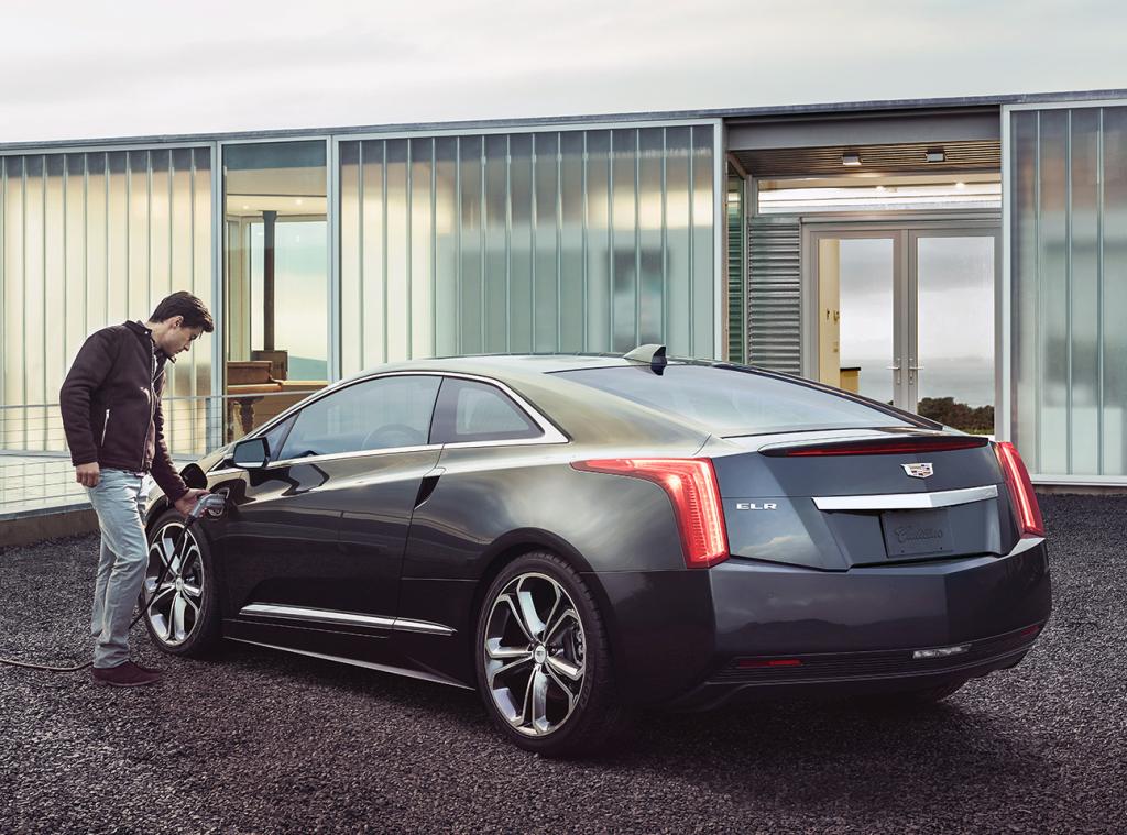 Cadillac ELR stekker
