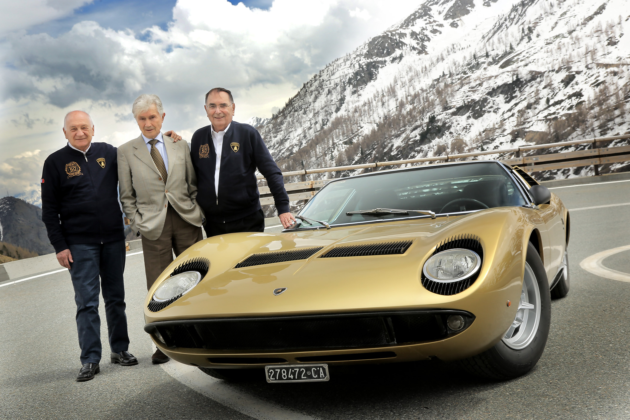 Lamborghini Miura P400 - The Italian Job - 50th Anniversary - Autovisie.nl