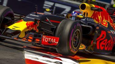 Max Verstappen in Monaco, Foto EPA