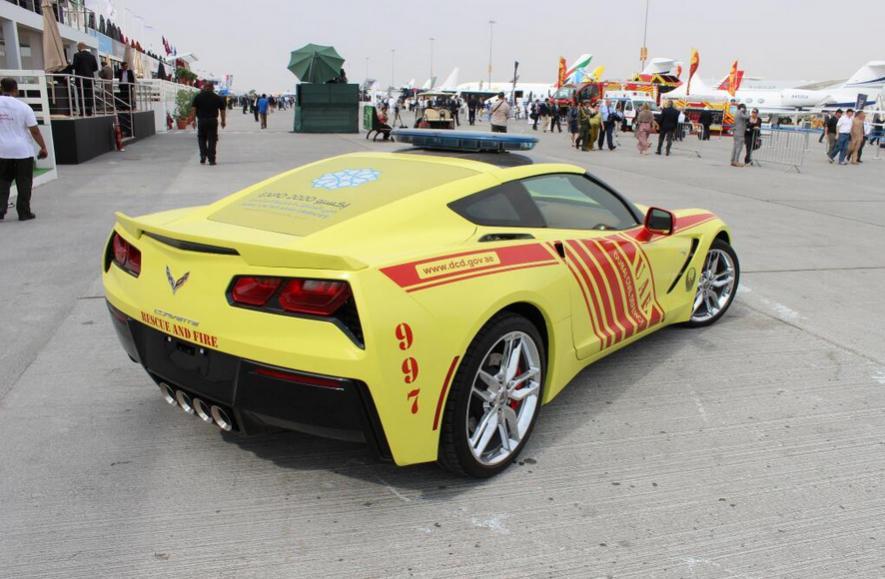 Chevrolet Corvette Stingray brandweerauto
