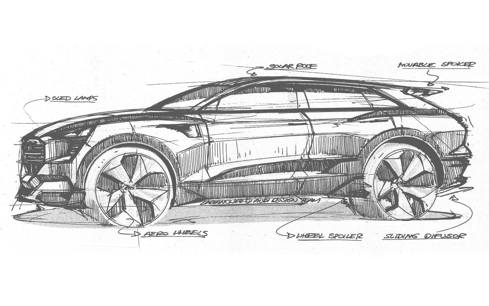 Audi h-tron quattro concept autovisie.nl Audi e-tron quattro concept