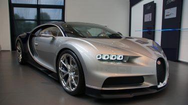 Spot jij de Bugatti Chiron bij het Koopmanshuis?