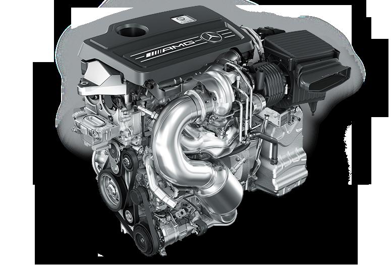 Mercedes AMG 2.0 turbo