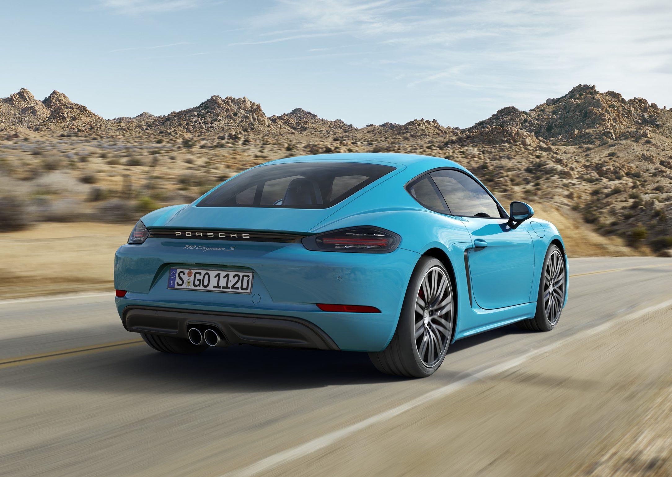 Porsche 718 Cayman autovisie.nl