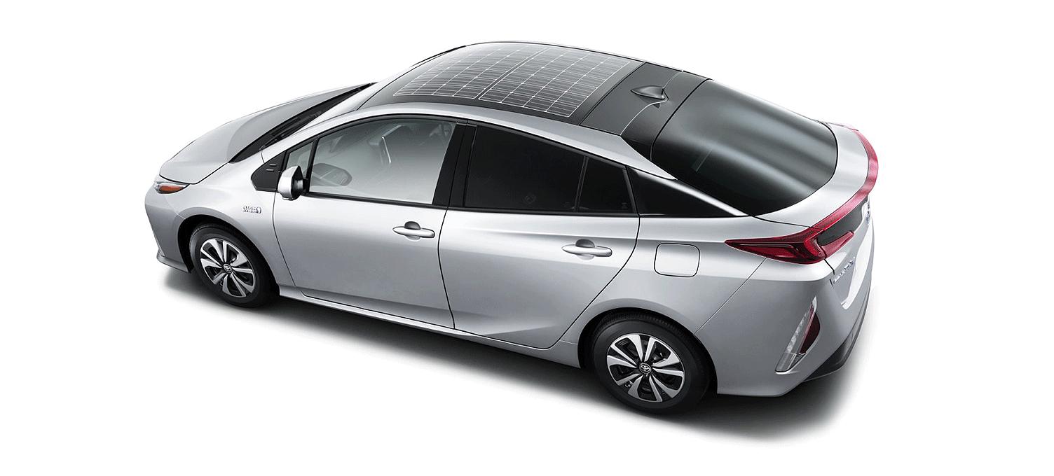Toyota Prius Plug-In zonnepaneel