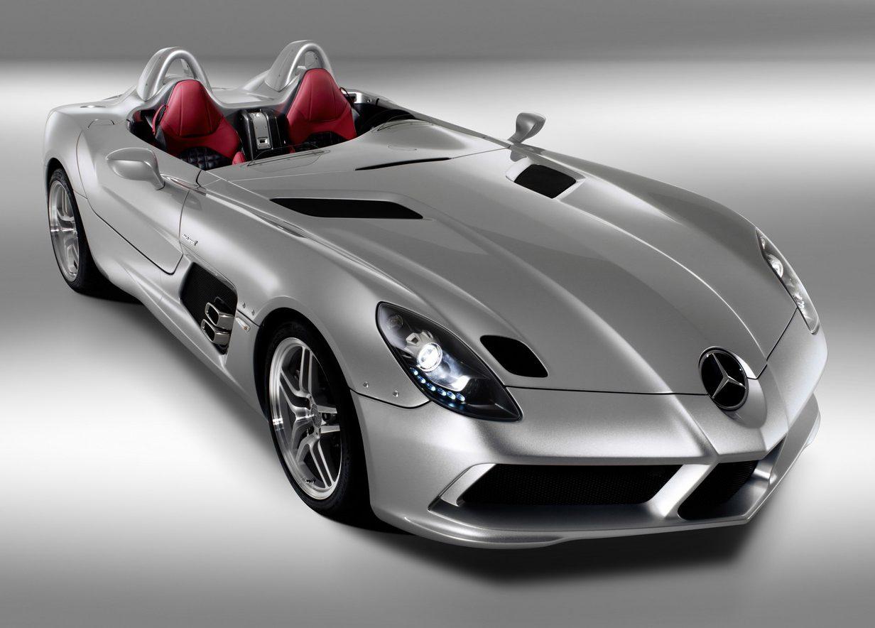 Mercedes-Benz SLR McLaren Stirling Moss autovisie.nl