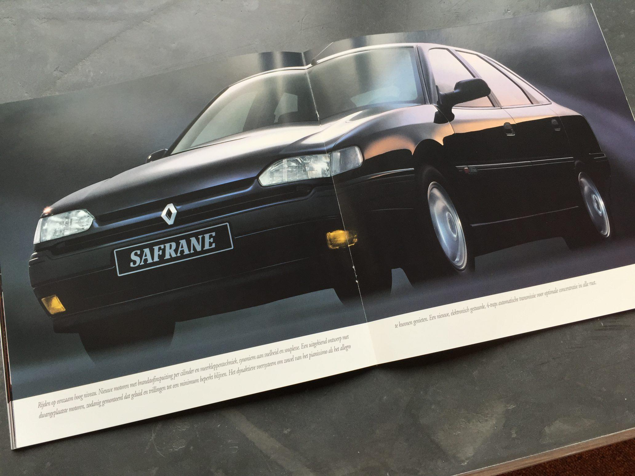 Autofolder Renault Safrane