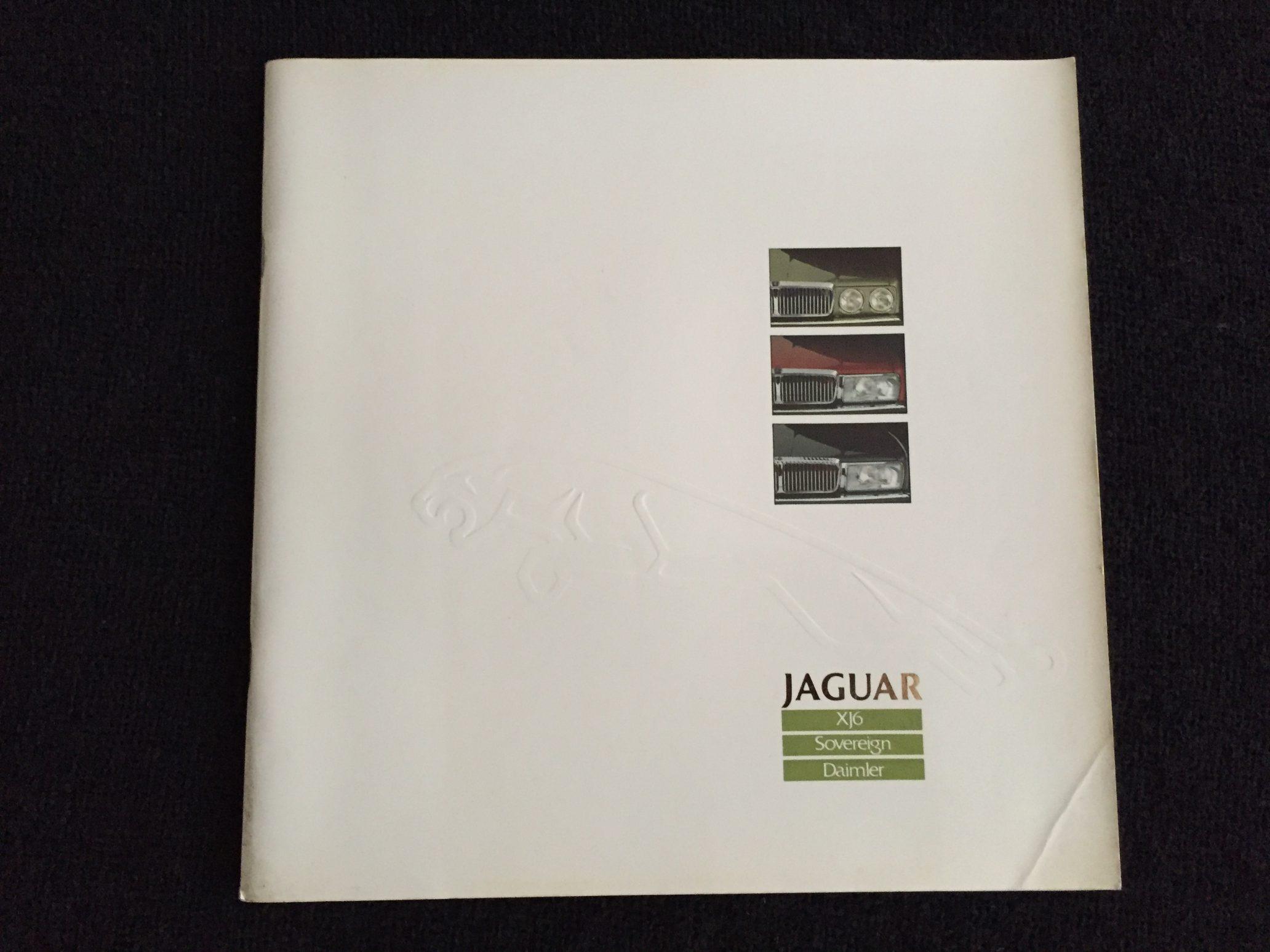 Autofolder Jaguar XJ