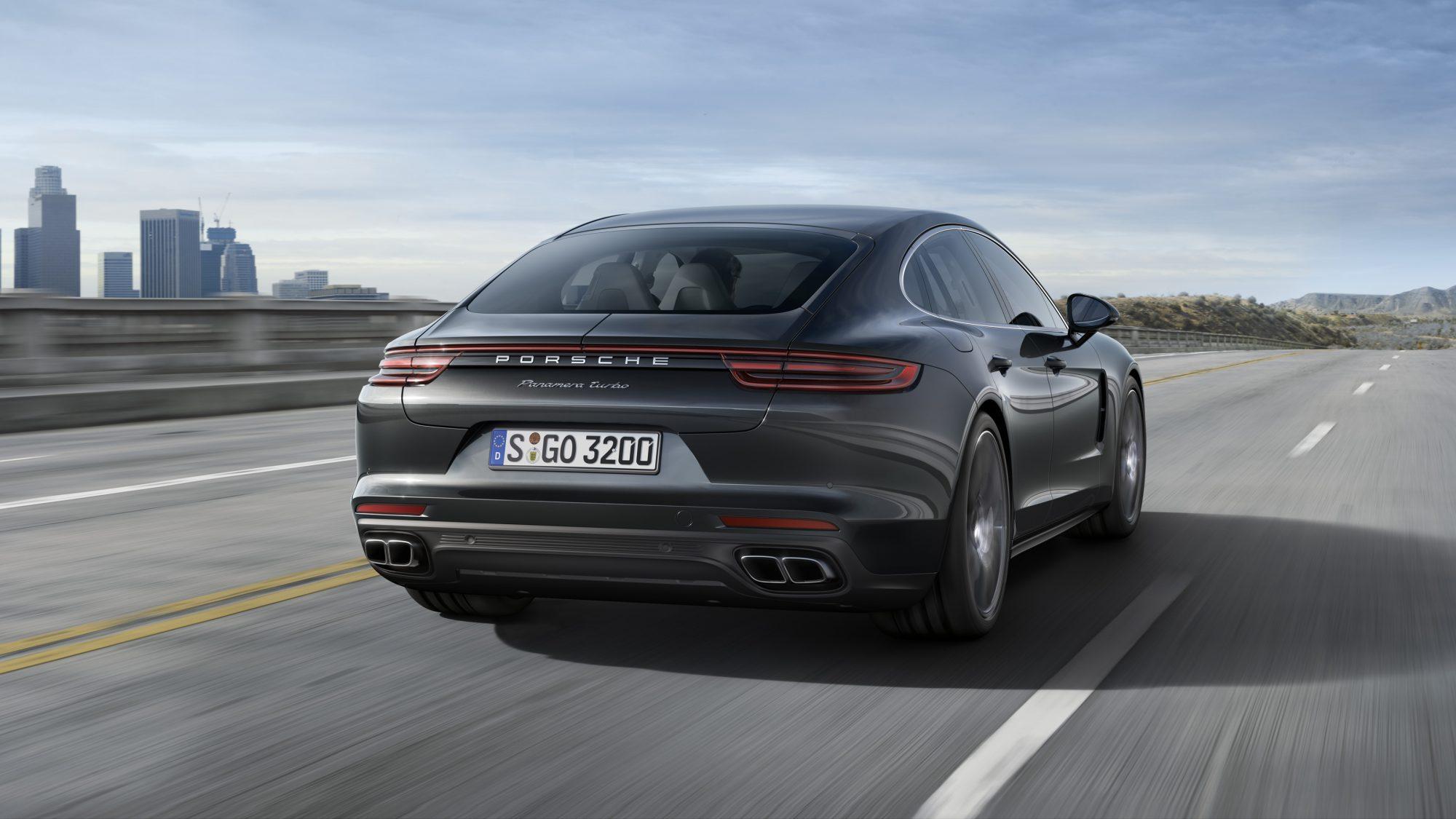 Porsche Panamera kont