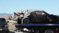 Chevrolet Camaro crash