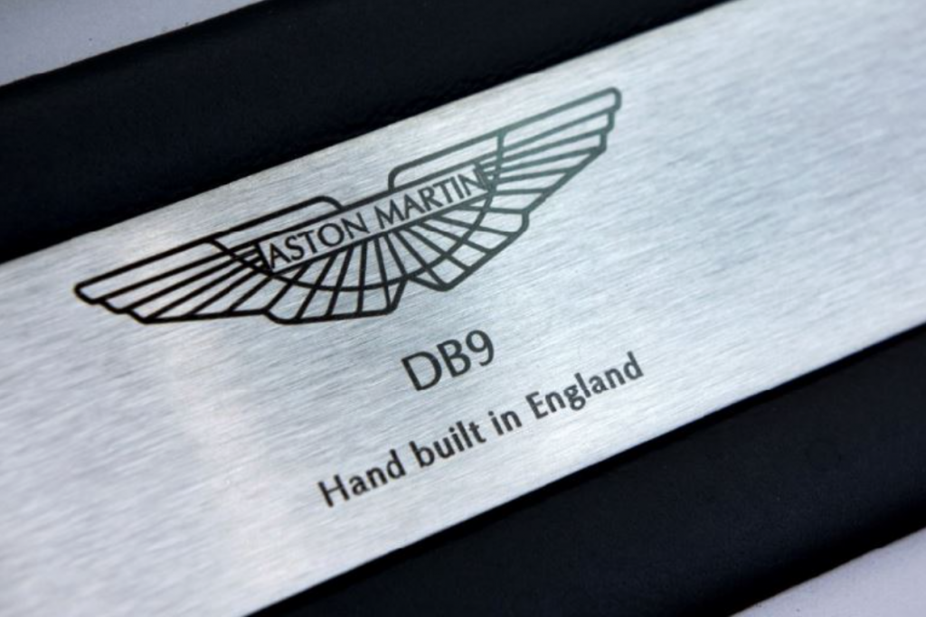 Aston Martin DB9 Final Edition