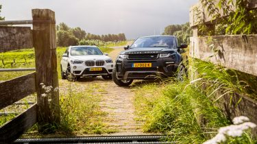 BMW X1 vs Range Rover Evoque