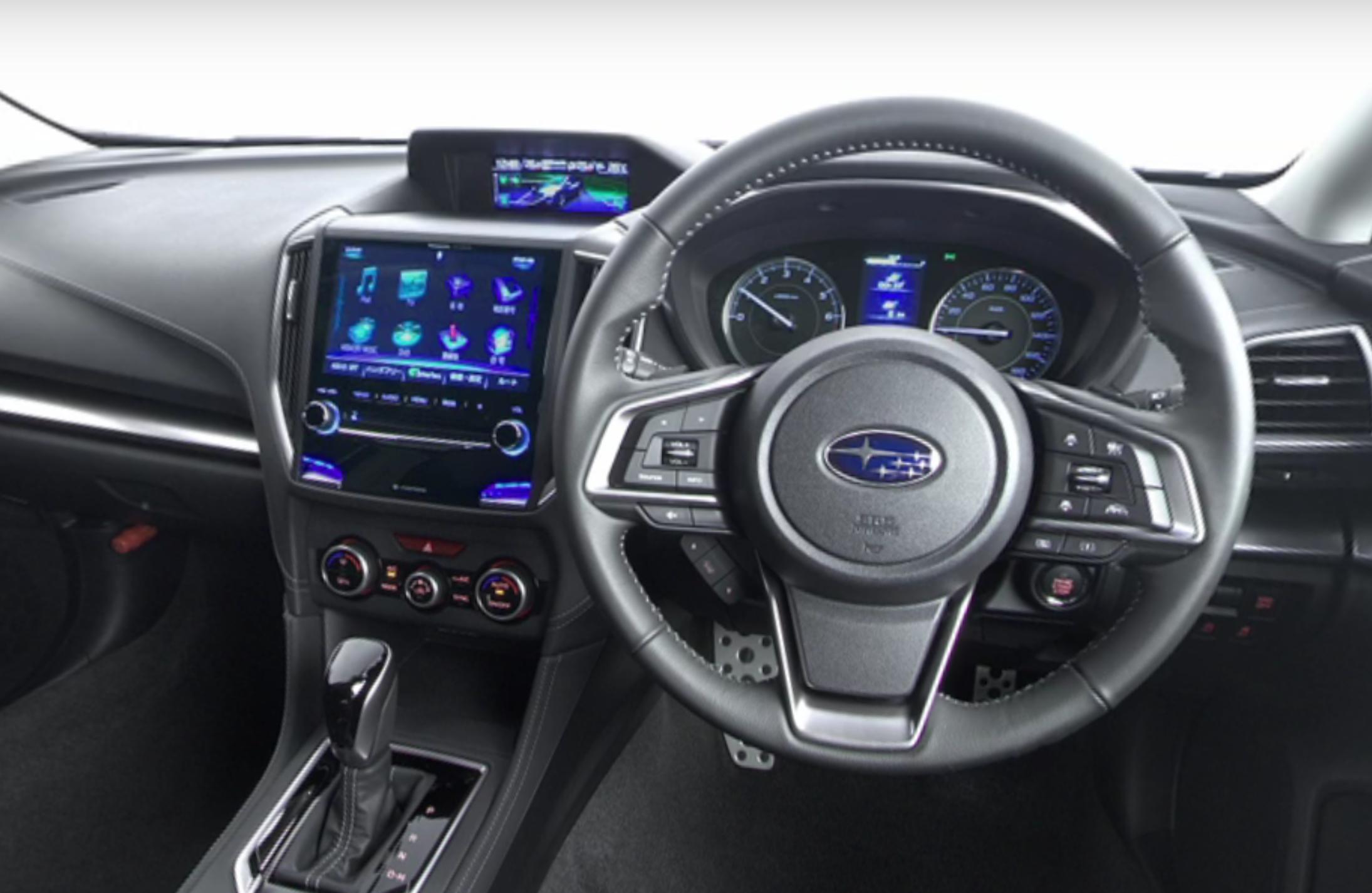 Subaru Impreza interieur - Autovisie.nl