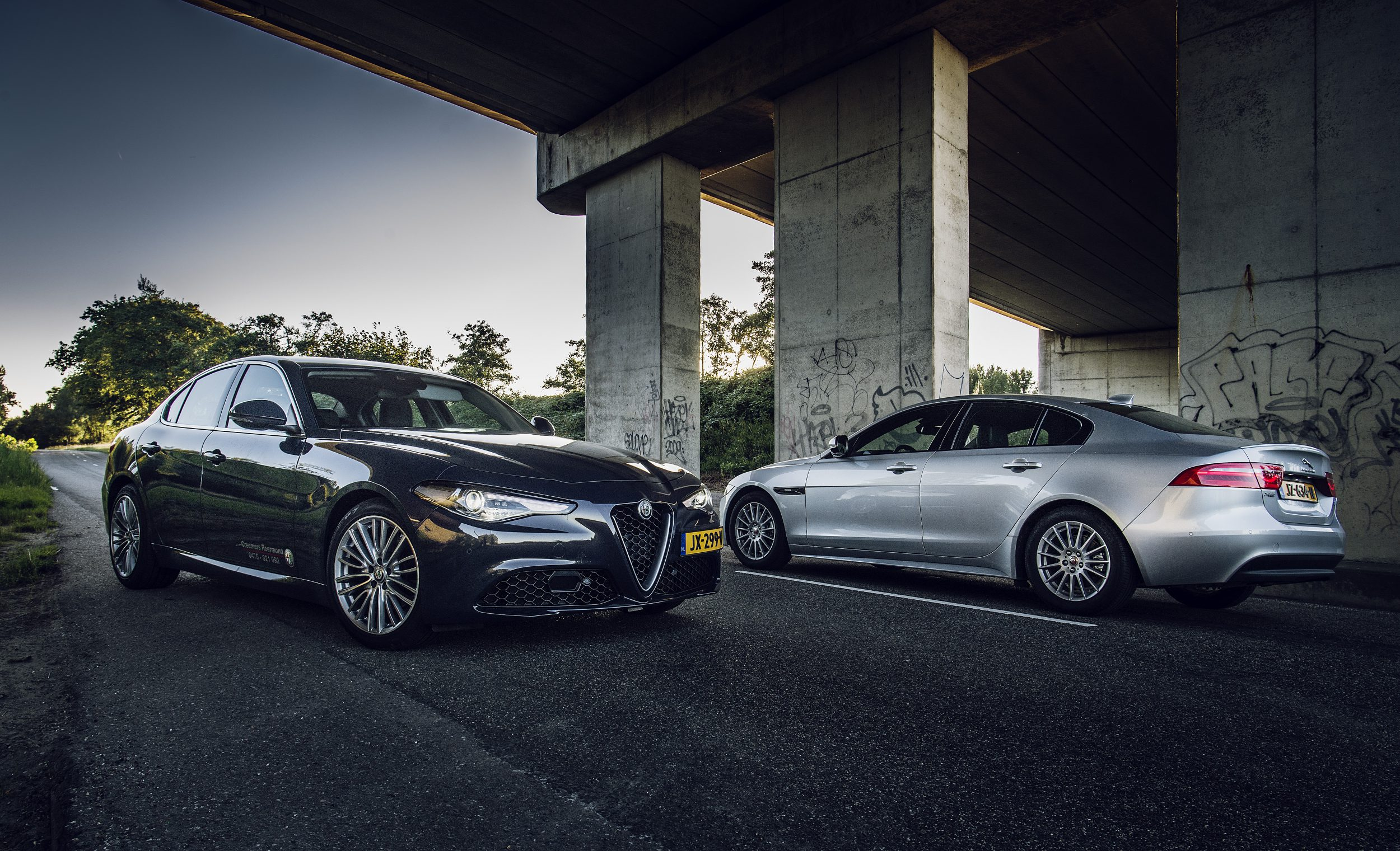 Alfa Romeo Giulia vs. Jaguar XE