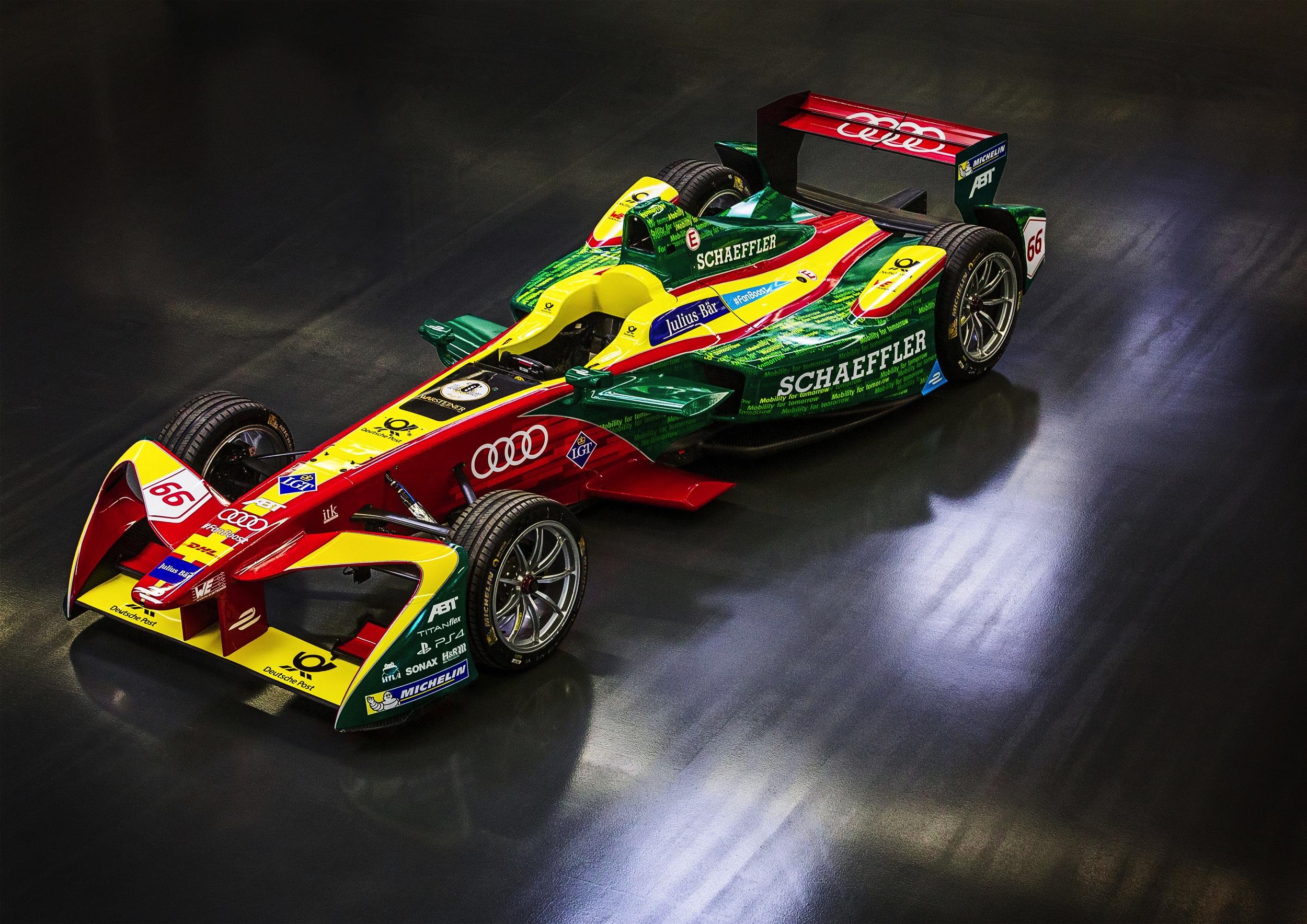 Audi ABT Formule E - Autovisie.nl